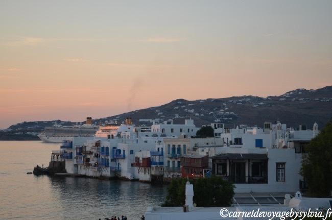 Transfert Athènes à Mykonos