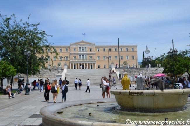 promenade à Athènes