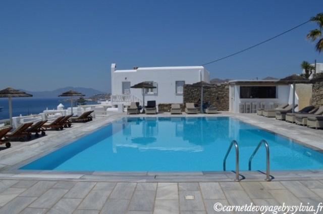 Alkyon hôtel Mykonos