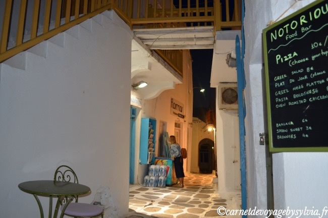 les boutiques de Mykonos