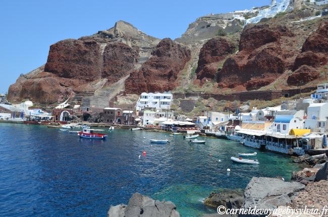 oia - village chic de Santorin