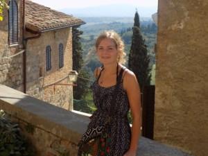 """Portrait de Perrine, rédactrice de la rubrique """"les voyages de Perrine"""""""