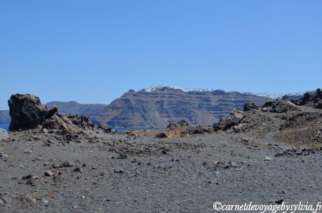 marche sur le volcan Caldeira
