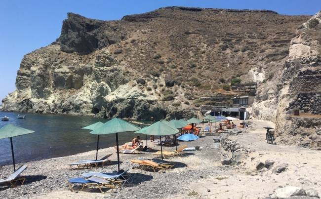 plage White Beach - Akrotiri -
