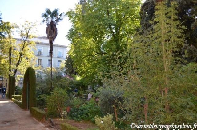 jardin botanique de Grenade