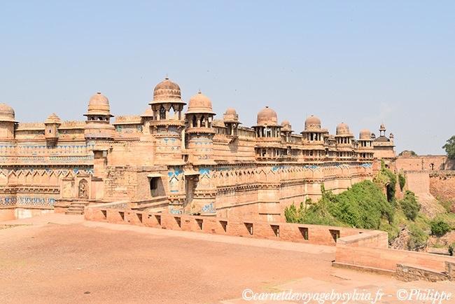 Citadelle de Gwalior.