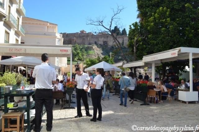 vue sur l'Alcazaba