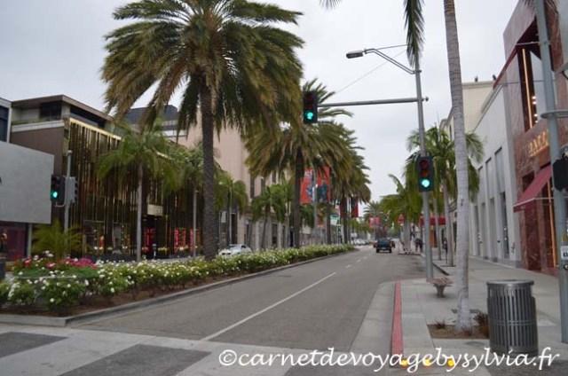Los Angeles - quartier de Beverly Hills - Rodéo Drive