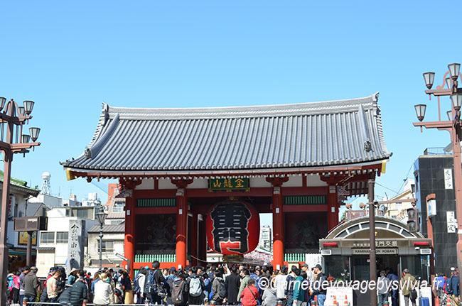 entrée du temple