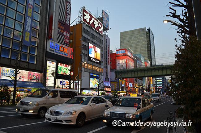 Notre arrivée au Japon (voyager vers le Japon)