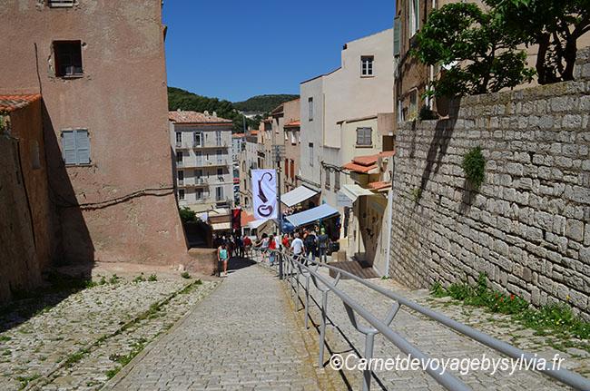 les montées Rastello et St Roch