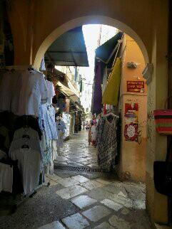 vieille ville de Corfou-Corfou-Perrine