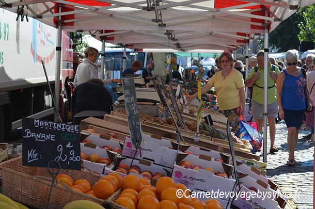 marché à St Valery