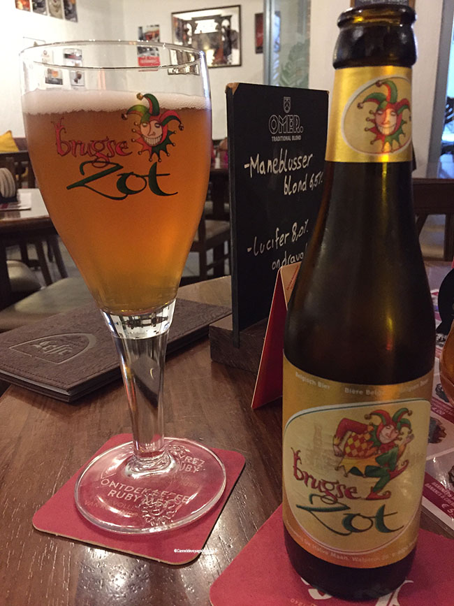 La bière de Bruges