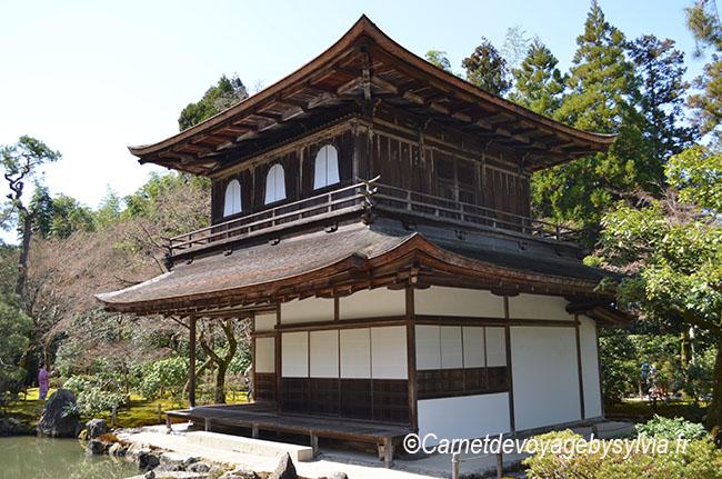 Ginkaku-ji : le pavillon d'argent de Kyoto