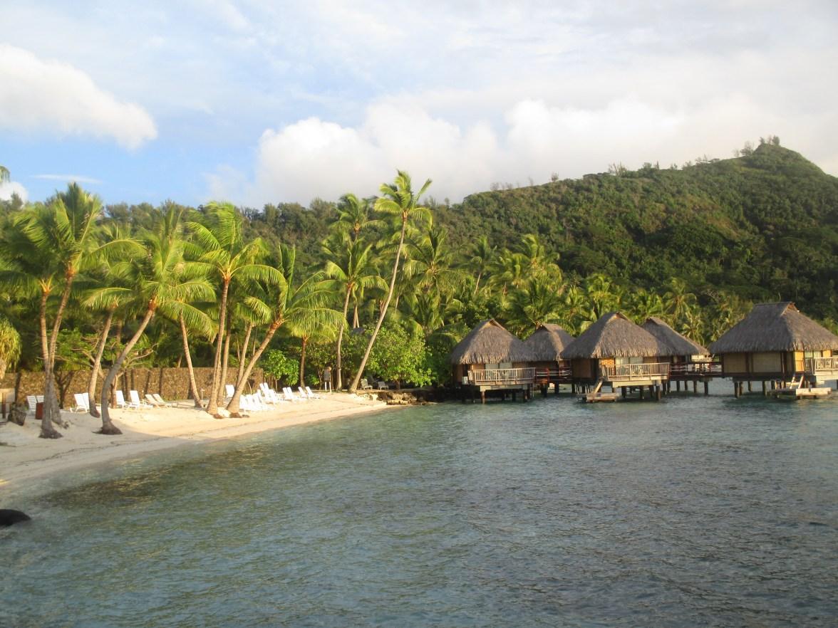 Notre modeste hôtel de Bora Bora !!!