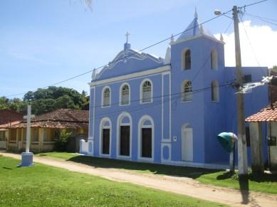 L'église face mer