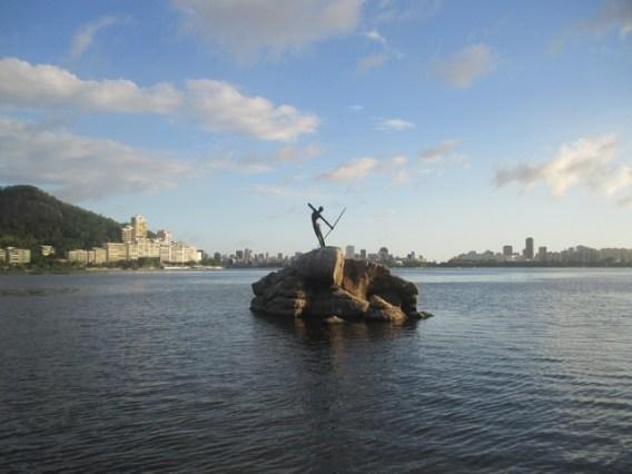 La lagoa de Rio