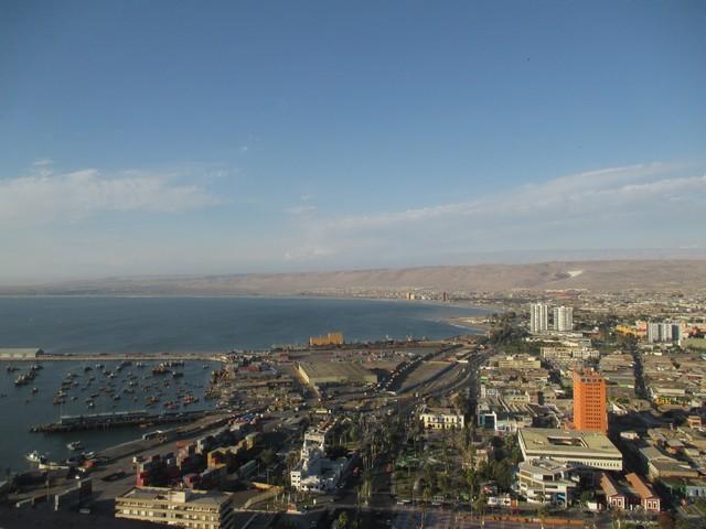 le port de Arica
