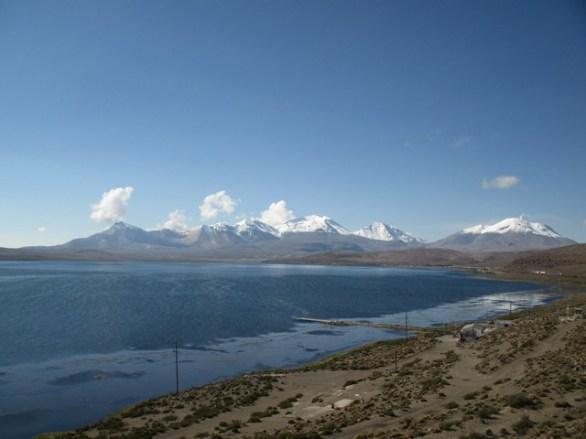 le lac de Chungará