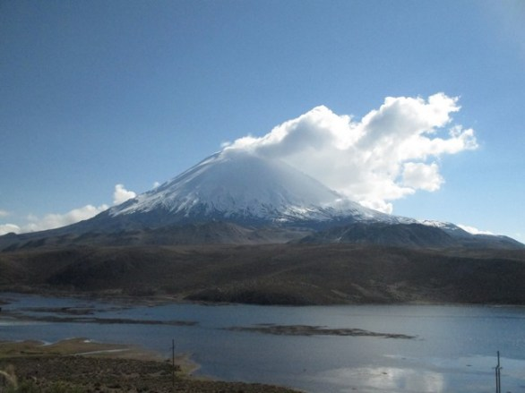 Le lac Chungará