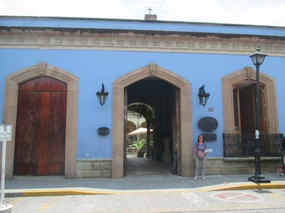 Notre hôtel de Oaxaca
