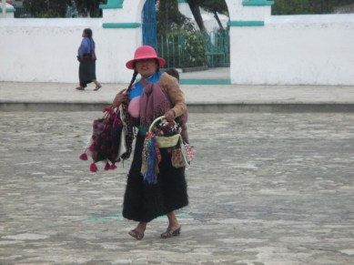 vendeuse de rue San Juan de Chamula