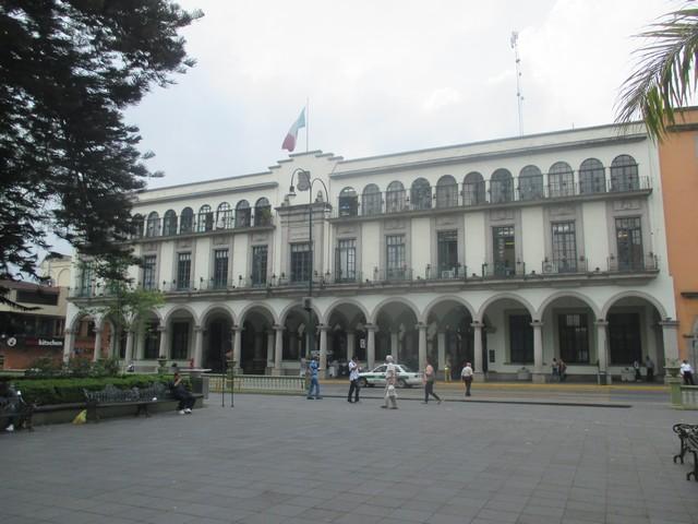 zocalo de Xalapa