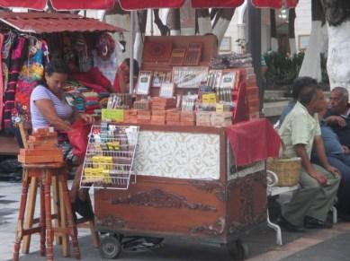 vendeuse de cigares sur le zocalo Veracruz
