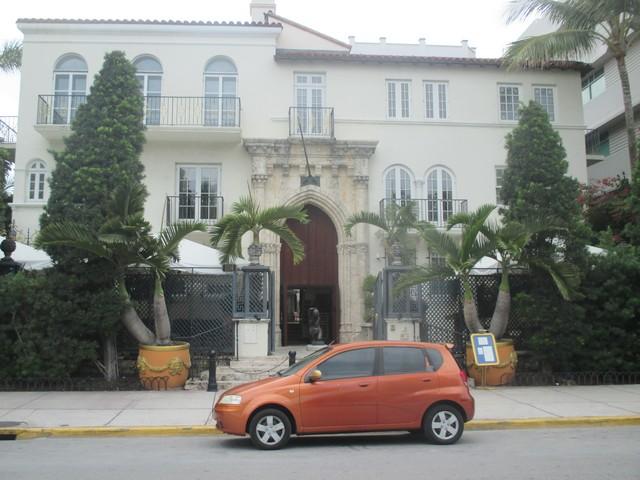 ex-maison de Versace Miami