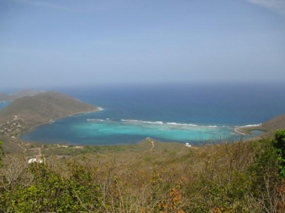 plage Nord de l'île Virgin Gorda