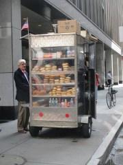 Vendeurs de rue New-York