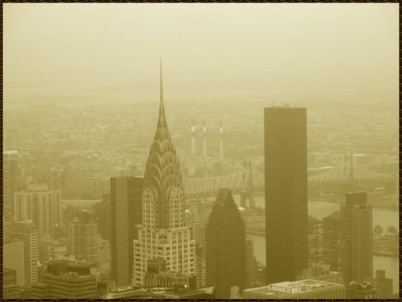Vue sur Chrysler Building