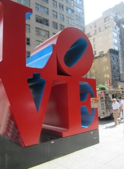 Love proche de Central Park