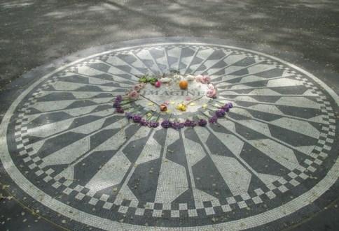 Central Park Hommage John Lennon