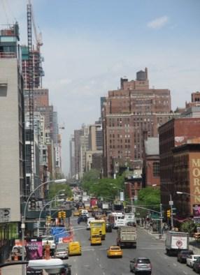 Vue depuis la High Line