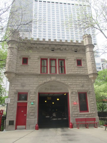 Pompiers du loop Chicago