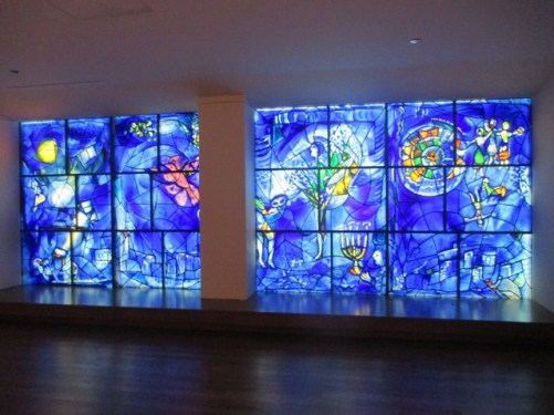 Chagall America window