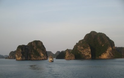 fin journée baie Halong
