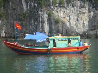 pêcheurs Halong Bay