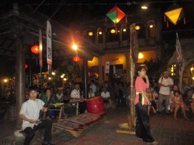 spectacle de chant Hoi An