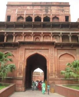 entrée Fort Agra