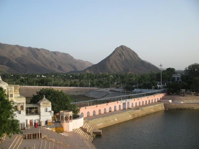pont sacré de Pushkar