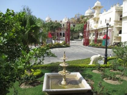 entrée du palais privé City Palace udaipur