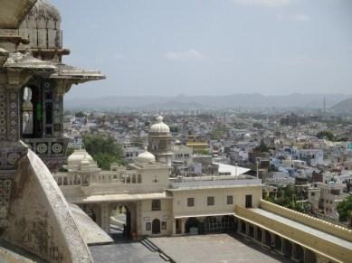 vue Udaipur depuis City Palace