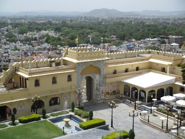 cour extérieure du musée city palace