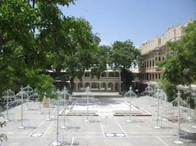 cour intérieure du musée city palace