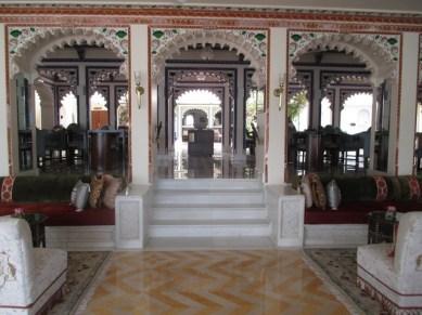 réception Lake palace