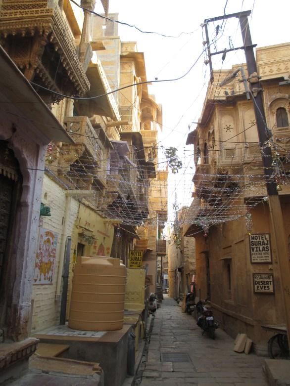 ruelle forteresse Jaisalmer