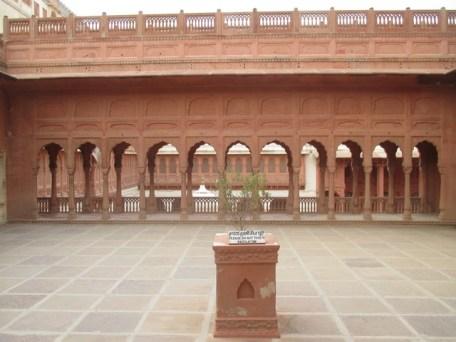 cour intérieure Fort de Junagarh